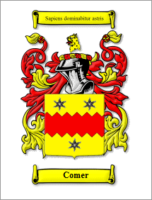 Comer Coat of Arms