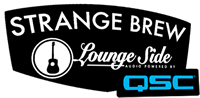Strange Brew Lounge Side Audio Powered by QSC